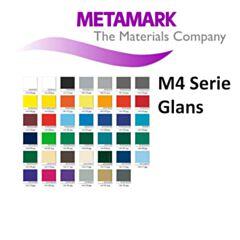 Kleuren Metamark Stickerfolie M4 serie Glans