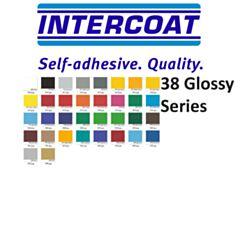 Kleurenkaarten stickerfolie Intercoat Gloss