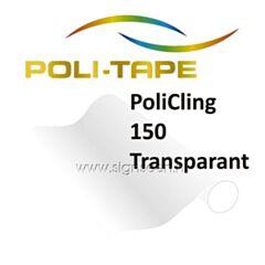 PoliCling 150 Transparant - Statisch hechtende printfolie