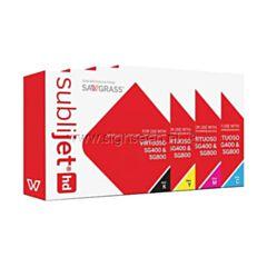 Sublimatie cartridges voor Sawgrass Virtuoso SG400 sublimatieprinter